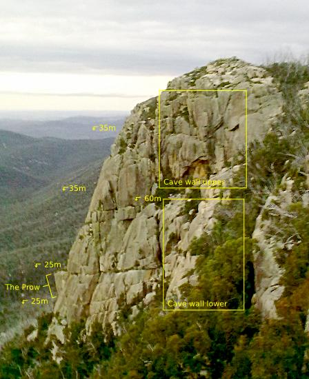 Booroomba Rocks - North Buttress raps
